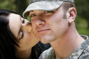 Military dating website scams