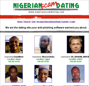 online dating site in nigeria Millions of americans visit online dating websites every year hoping to find a companion or even a soulmate fbigov is an official site of the us government.